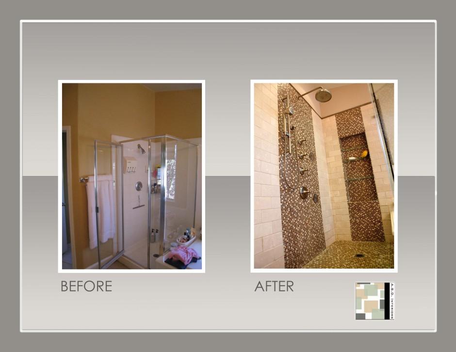 Bathroom Design, Custom Shower