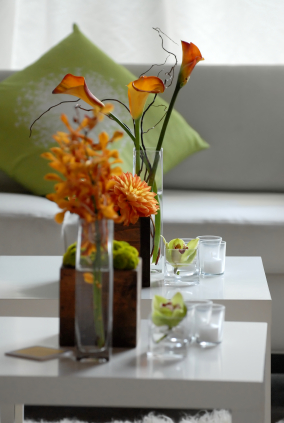 A.S.D. Interiors modern flowers for spring!