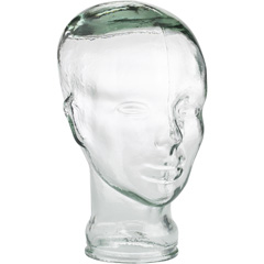 recycled glass head pier 1 imports