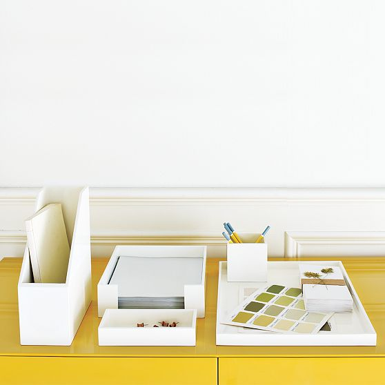 5 ideas for organization a s d interiors blog - Desk organization accessories ...