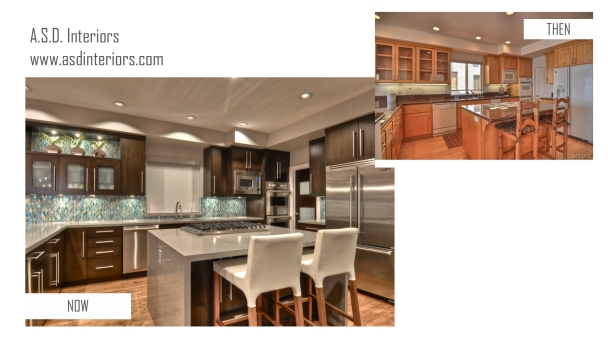 Manhattan Beach kitchen remodel before and after
