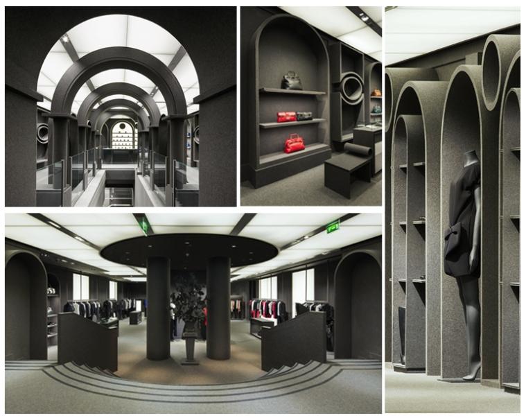 Viktor & Rolf Flagship Store, Paris Designer: Architecture & Associés