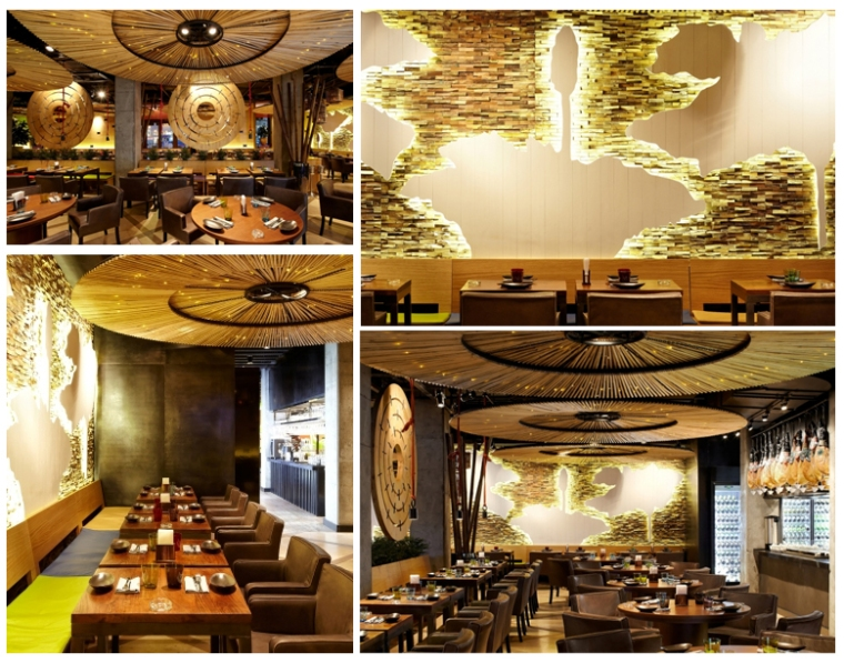 Strana Restaurant, Moscow Designer: Geometry Design