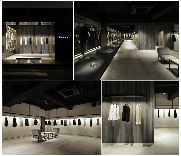 Theory Store, Tokyo Designer: Nendo