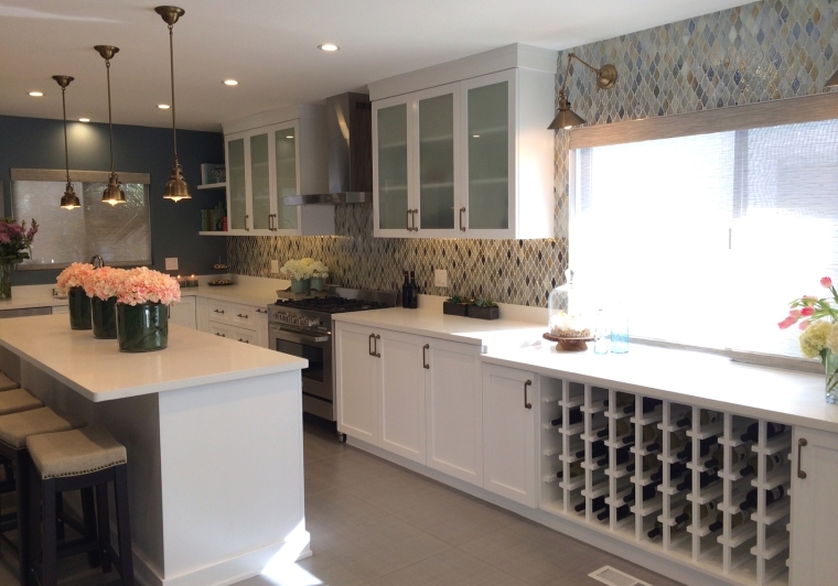 After picture of Ani and Allens kitchen remodel