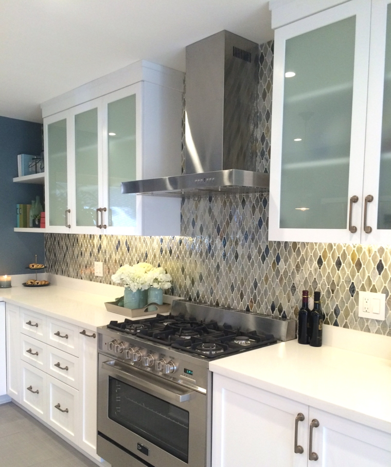 HGTV kitchen remodel designed by Shirry Dolgin and work by A-List Construction