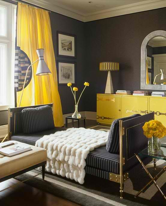 Yellow And Grey Bedroom Themes: WHERE THE REAL CONVERSATION ABOUT